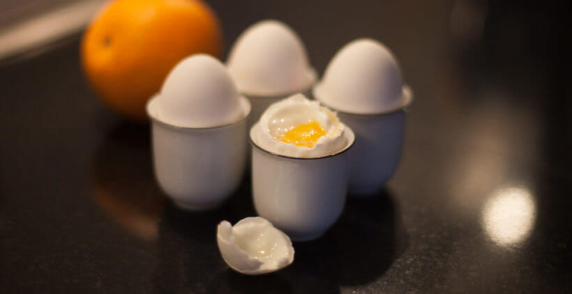 sous vide soft-boiled egg
