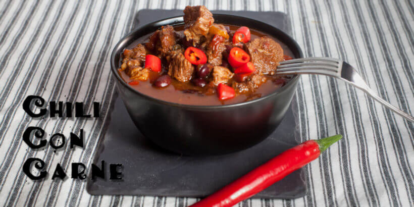 Devilishly delicious chili con carne