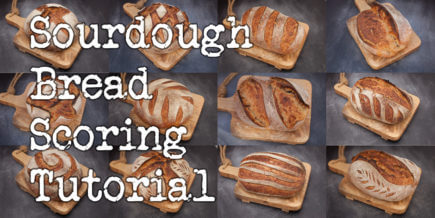 Sourdough Bread Scoring Tutorial