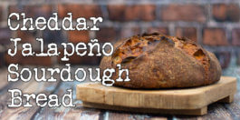 Cheddar/Jalapeño Sourdough Bread - It's a hot and creamy recipe
