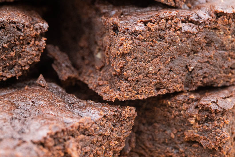 delicious fudgy brownies