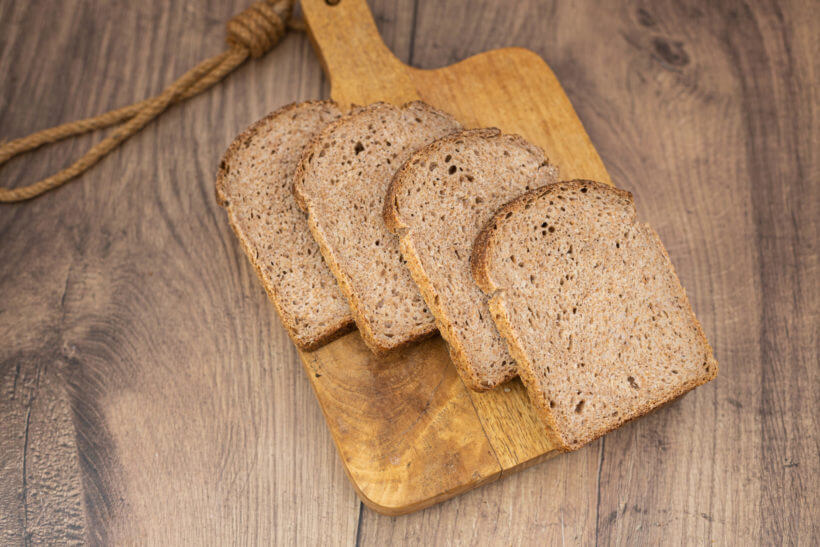 the delicious and soft crumb in this sourdough spelt loaf