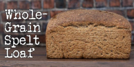 Sourdough Spelt Loaf Recipe - Simple and healthy bread